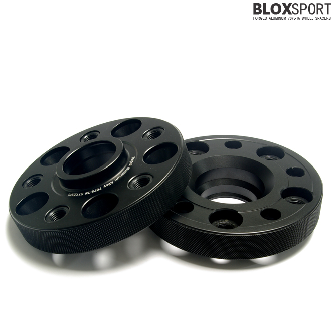BLOXSPORT 25mm AL7075-T6 Wheel Spacers-Volkswagen GOLF VI (GTI)