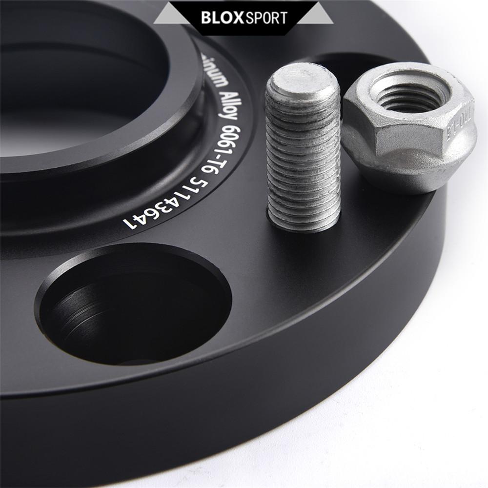 Front 20mm+Rear 25mm 5x114.3 6061T6 Black Wheel