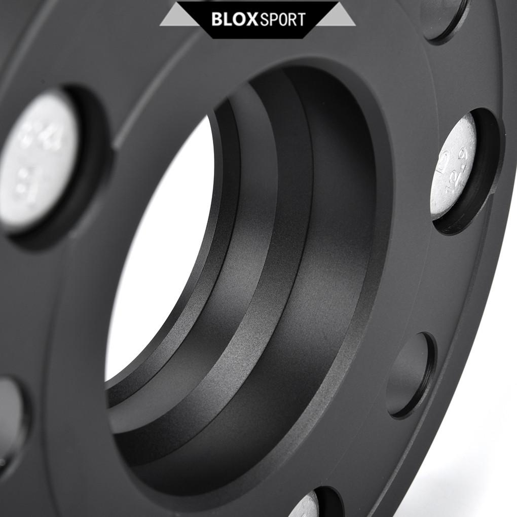 5Lug Studs CNC Black Hub 2x15mm+2x20mm Wheel Spacer