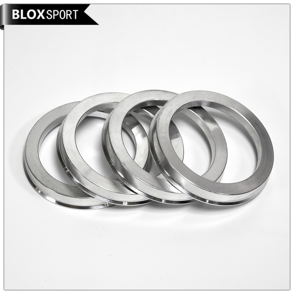 Image Is Loading 4pcs Aluminum Hub Centric Rings 73 1mm To
